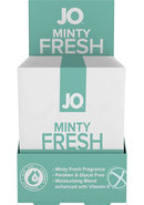 Jo Minty Fresh Personal Cleasing Wipes 24 Single Packs Per...