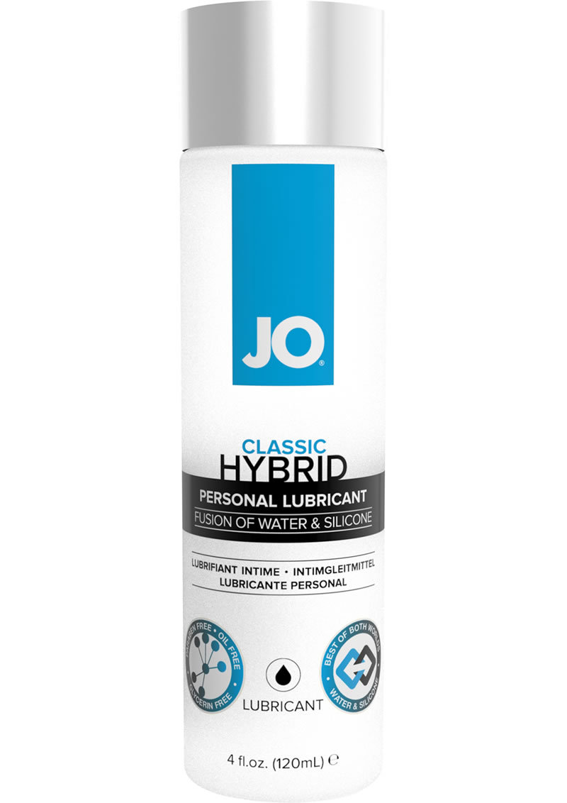 Jo Hybrid Silicone And Water Based Lubricant 4 Ounce