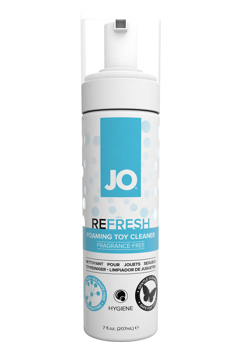 Jo Refresh Foaming Toy Cleaner Fragrance Free 7oz