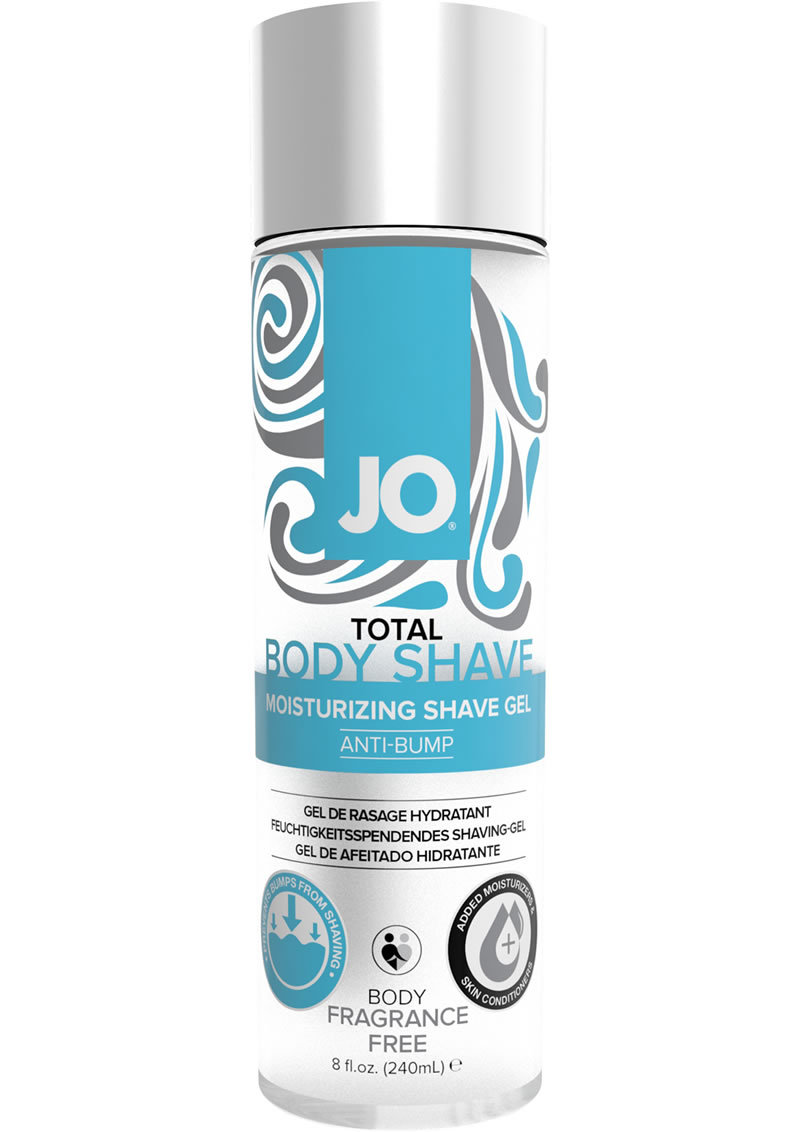 Jo Anti Bump Shaving Gel Unscent 8 Oz