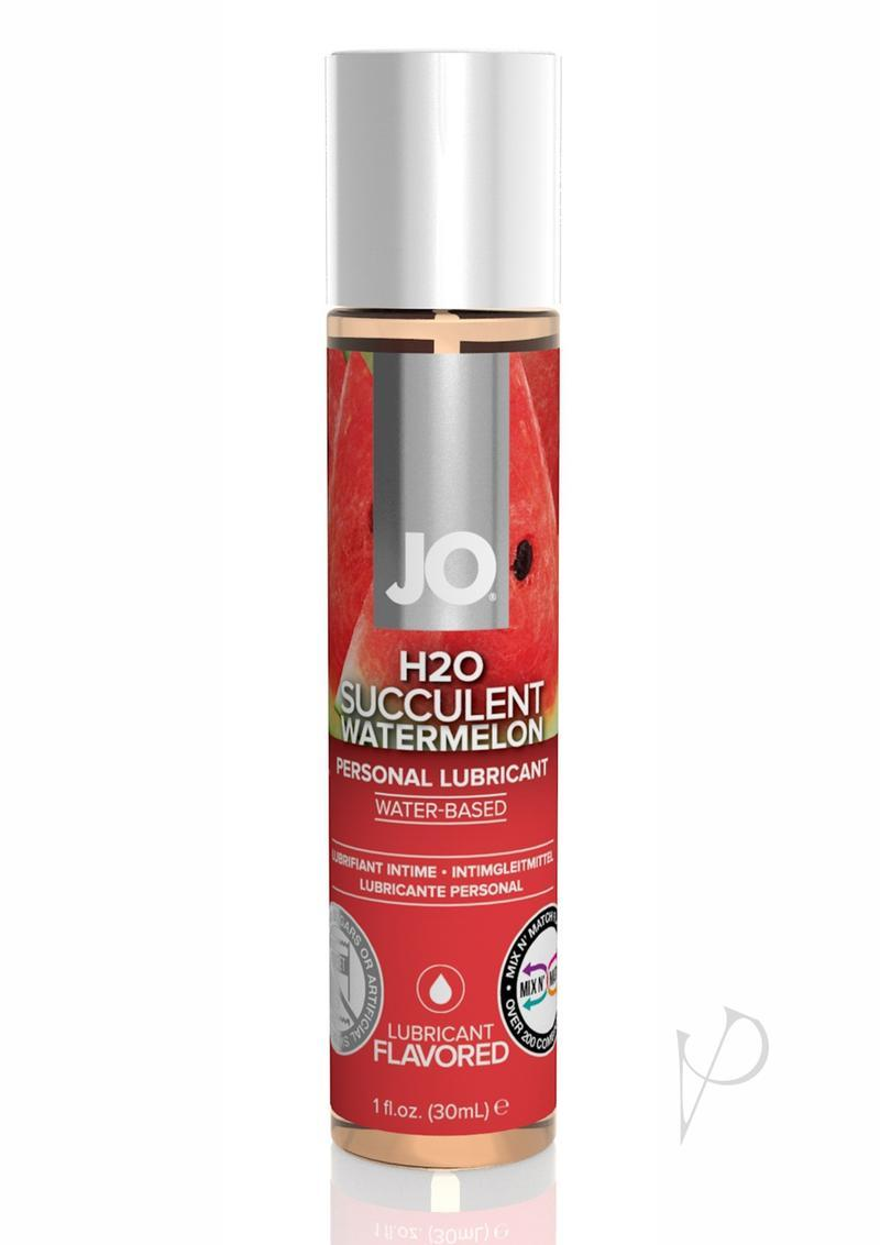 Jo H2o Flavor Lube Watermelon 1oz