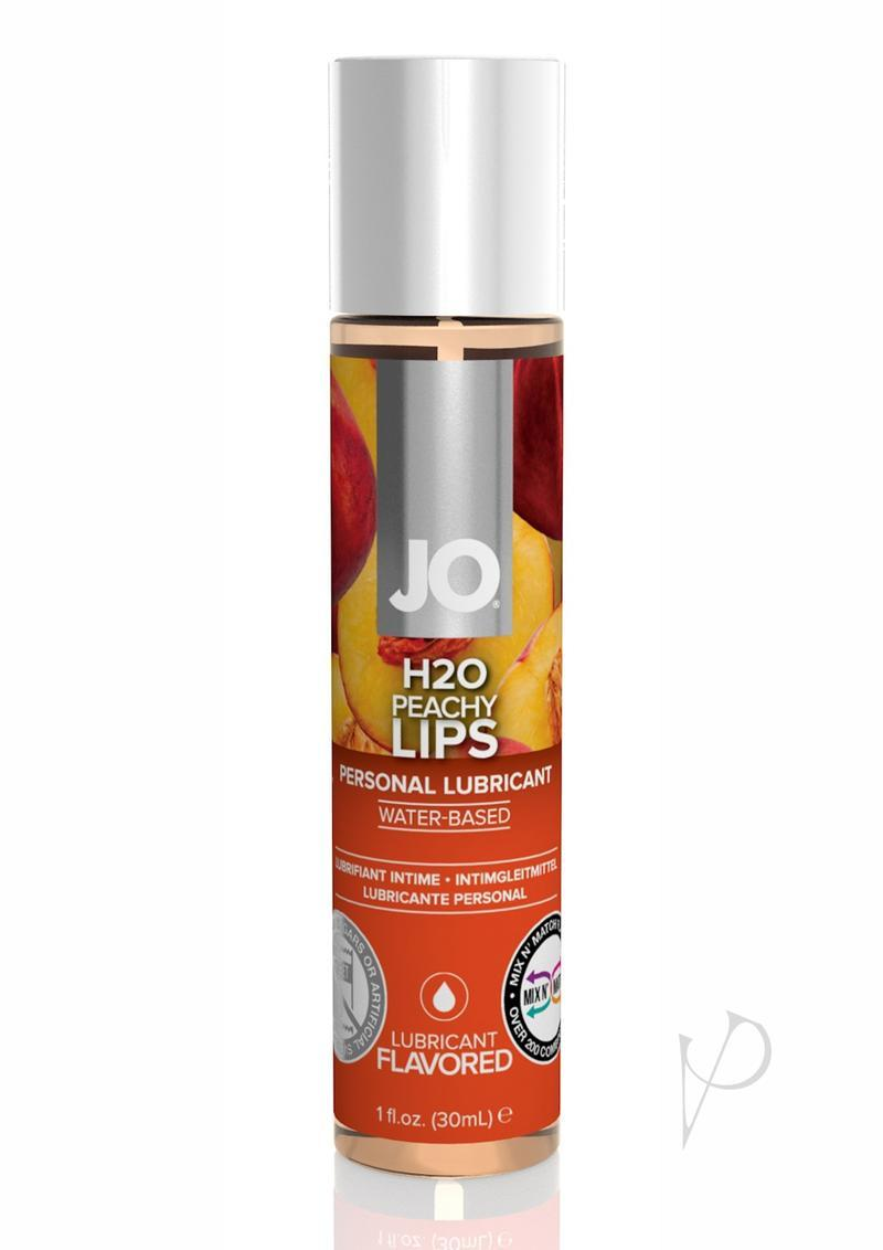 Jo H2o Water Based Flavored Lubricant Peachy Lips 1 Ounce