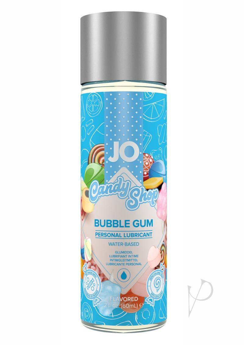 Jo Candy Shop Water Based Flavored Lubricant Bubble Gum 2 Ounce