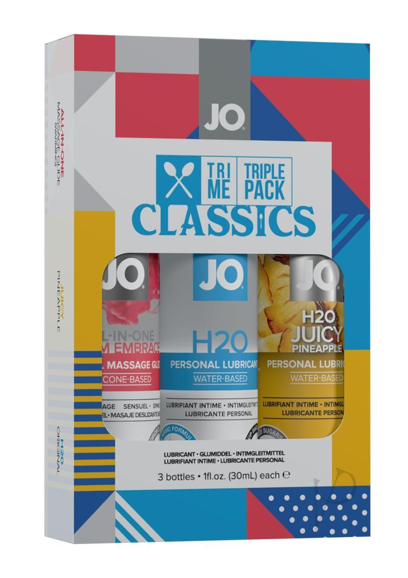 Jo Tri Me Triple Pack Classics 3 - 1ounce Bottles Original,warming And Pineapple
