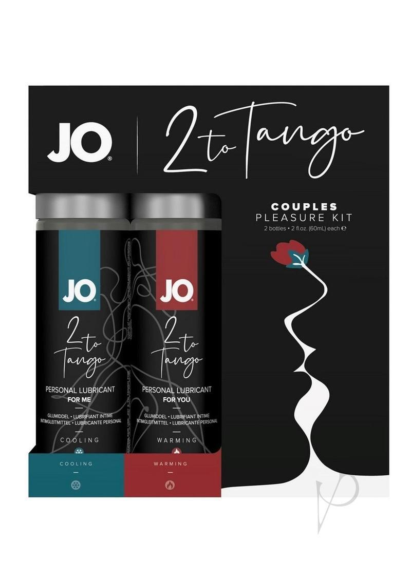 Jo 2 To Tango Couples Pleasure Kit Lubricant, 2 Oz